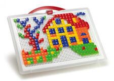 Quercetti 0954 - Mosaik-steckspiel Fanta Color Portable Large Inklusiv 300 Steck