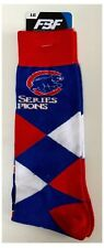 Chicago Cubs MLB Baseball 2016 World Series Champions Men's Check Socks