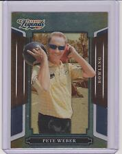 2008 DONRUSS LEGENDS PETE WEBER SILVER FOIL CARD #99 ~ PBA BOWLING LEGEND ~ QUAN