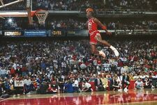 MICHAEL JORDAN 1988 SLAM DUNK FRAMED PRINT CHICAGO BULLS NBA AIR JORDAN MVP