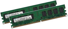 2x 2gb 4gb DI RAM MEMORIA ASUS m2npv-mx scheda madre pc2-6400 800mhz 240pin