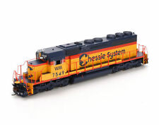 HO Scale Model Train Locomotives