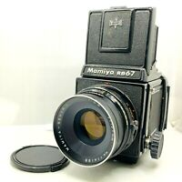 【EXC++++】 Mamiya RB67 Pro + Sekor C 127mm f/3.8 + 120 Film Back From Japan 866