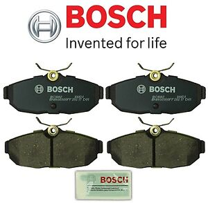 Fits Ford Mustang 2005-10 Rear Disc Brake Pad Bosch QuietCast BC1082 52010820462