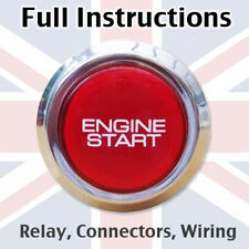 Engine Start Button for Range Rover Sport Evoque P38 L322 L405 L320 Mk2 Mk3 Mk4