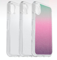 Genuine Otterbox Symmetry Clear Case iPhone XR  Clear Stardust Gradient Energy