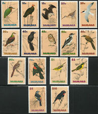 Bahamas 1991 QEII Birds complete set of mint stamps value to $10  MNH