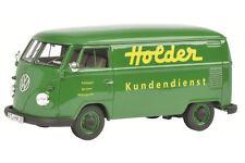 """Schuco VW / Volkswagen T1 """"Titulaire de"""" Fourgonette vert 1:32 Art. 450892700"""