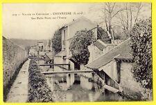 cpa 78 - CHEVREUSE (Yvelines) Petits PONTS sur l'YVETTE et MAISONS à LAVOIRS