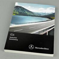 Mercedes-Benz CLA Shooting Brake - Betriebsanleitung - 2014/2015