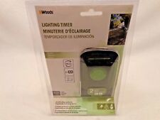 Outdoor 24 Hour Mechanical Lighting Timer Box Holiday Lights - Woods 50011