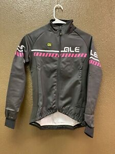 Alé Cycling Excel Winter Jacket - Black/Pink - Women's Small