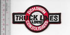 Vintage Trucking & Van Lines Canada Dominion Consolidated Truck Lines Toronto ON