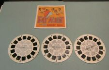 1972 Fat Albert and the Cosby Kids 3 Viewmaster Reel Set B554 + Booklet CBS TV