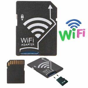 WIFI Adapter Memory Card TF to SD SDHC SDXC Card Kit For Android Phone Wireless
