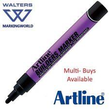 Artline Builders Permanent Marker Pen - Marks Timber, Sandstone, Polystrene etc