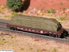 Hay Brothers - TARP COVERED LOAD #5  (Colors Vary) - for 50 ft & larger flatcars