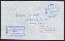 """Queensland Postmark """"Postal Enquiry Office - Underwood"""" On Taxed Cover (Ps6182)"""