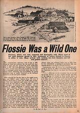 Florence Idaho Gold Mine+Bledsoe,Bounding Billy,Cherokee Bob,Bridges,Bunton