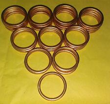 *EXHAUST MANIFOLD GASKET RINGS NR750 RC40 RVF750 RC45 NX650 SLR650 VFR 400  C0