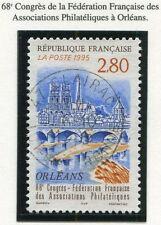 TIMBRE FRANCE OBLITERE N° 2953 PHILATELIE A ORLEANS / Photo non contractuelle