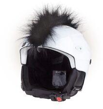 Cherokee Irokese für Helm Helmet Irokesen schwarz Helmirokese Skihelm black Rad