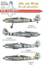EagleCals Decals 1/48 FOCKE WULF Fw-190D-9 JG-2, JG-4, JG-20, & JG-51