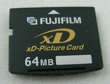 Fujifilm 64MB xD Picture Card NO CASE Used Working