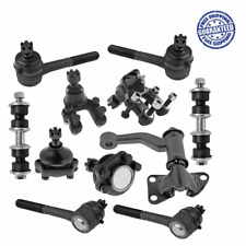 Steering Kit Idler Arm Tie Rod Ball Joints Set For Nissan Pathfinder 1987-1992