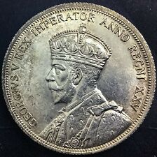 Canada 1935 Silver Dollar Variety Doubling On Obverse &  Reverse Neat Variety