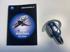 Motorola H700 Wireless Bluetooth Headset Blue - Not tested - spares or repairs