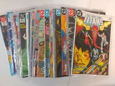 JLA comic lot The New Teen Titans 1984 1-53 annuals 1 2 3 4 VF/VF+ Bagged