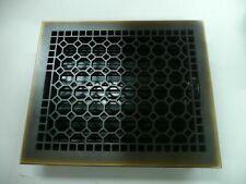 Rejuvenation Floor register cover Burnished Antique Bronze 10x12