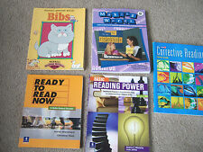 5 AT-HOME School TEACHERS Teaching Guides READING WRITING SPELLING BOOKS Gr 3-6