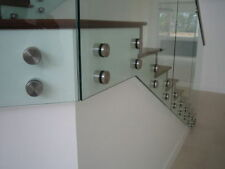 Stainless steel Glass Stand Off 52mm face M10x10mm Plate 316