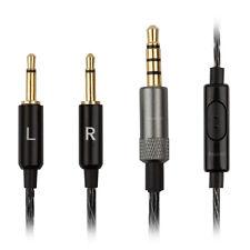 Cavo Audio per BOWERS & Wilkins ® P3 Cuffie-B&W iPhone di ricambio Piombo