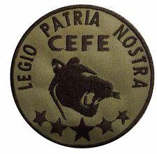 Ecusson/Patch souvenir Légion étrangère CEFE 3ème REI -8,5cm- à coudre ou scatch