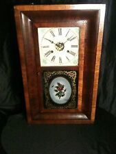 Antique OGEE Clock New Haven Clock Co. Look!