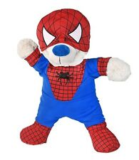"""Teddy Bear Clothes - Spider Man Outfit, fits 16"""" teddy mountain and Build a Bear"""