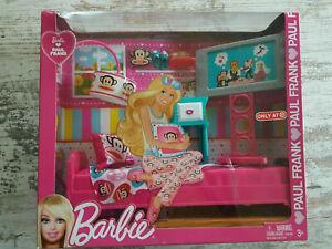 Barbie Ama Paul Frank - Bedroom Camera da Letto - Julius Stile Mattel 2011 NRFB