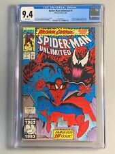 Spider-Man Unlimited 1 - CGC 9.4 - Maximum Carnage - 1st Shriek