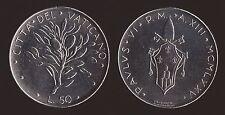 VATICANO 50 LIRE 1975 - PAOLO VI - FDC/UNC FIOR DI CONIO