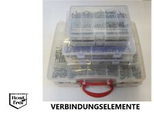 Sortiment Holz-/Spanplattenschrauben Linsen-/Senkkopf TORX Ø3,0-6,0mm EDELSTAHL