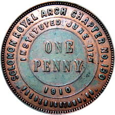 Fredericktown Missouri Masonic Chapter Penny Token Solomon Chapter