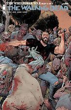IMAGE COMICS THE WALKING DEAD #158 COVER B ART ADAMS WHISPERER WAR PT. 2