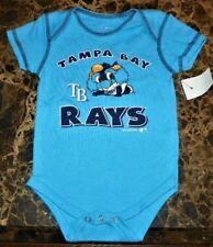 """NEW"" Tampa Bay Rays ~ MASCOT CREEPER BODYSUIT ~ MLB Boy's Sz 6M 9M BASEBALL"