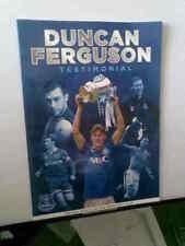 Everton Football Testimonial Fixture Programmes (2000s)