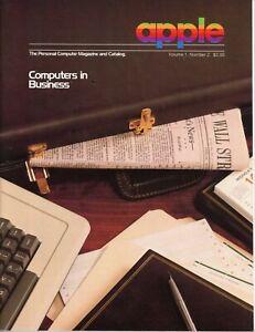 Apple The Personal Computer Magazine and Catalog Volume 1 Number 2 Jef Raskin