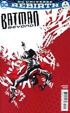 Batman Beyond #4 Martin Ansin Variant Cover DC Comics 2017 DCU Rebirth