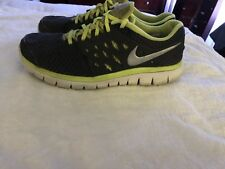 Mens Nike Flex Run 2013 - Gray And Green - Size 9.5
